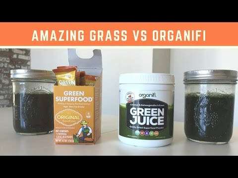 Amazing Grass vs Organifi