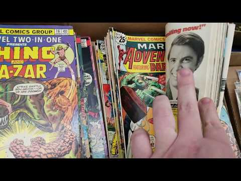Live Retro Toy Hunting Episode #11 Live Auction Time!!!! Gi Joe, Comic Books Hot Wheels....