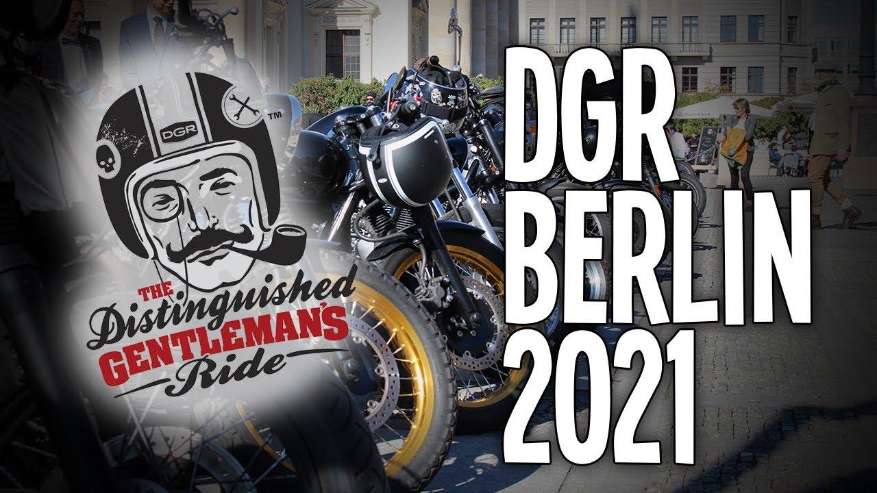 DGR Distinguished Gentleman's Ride Berlin 2021