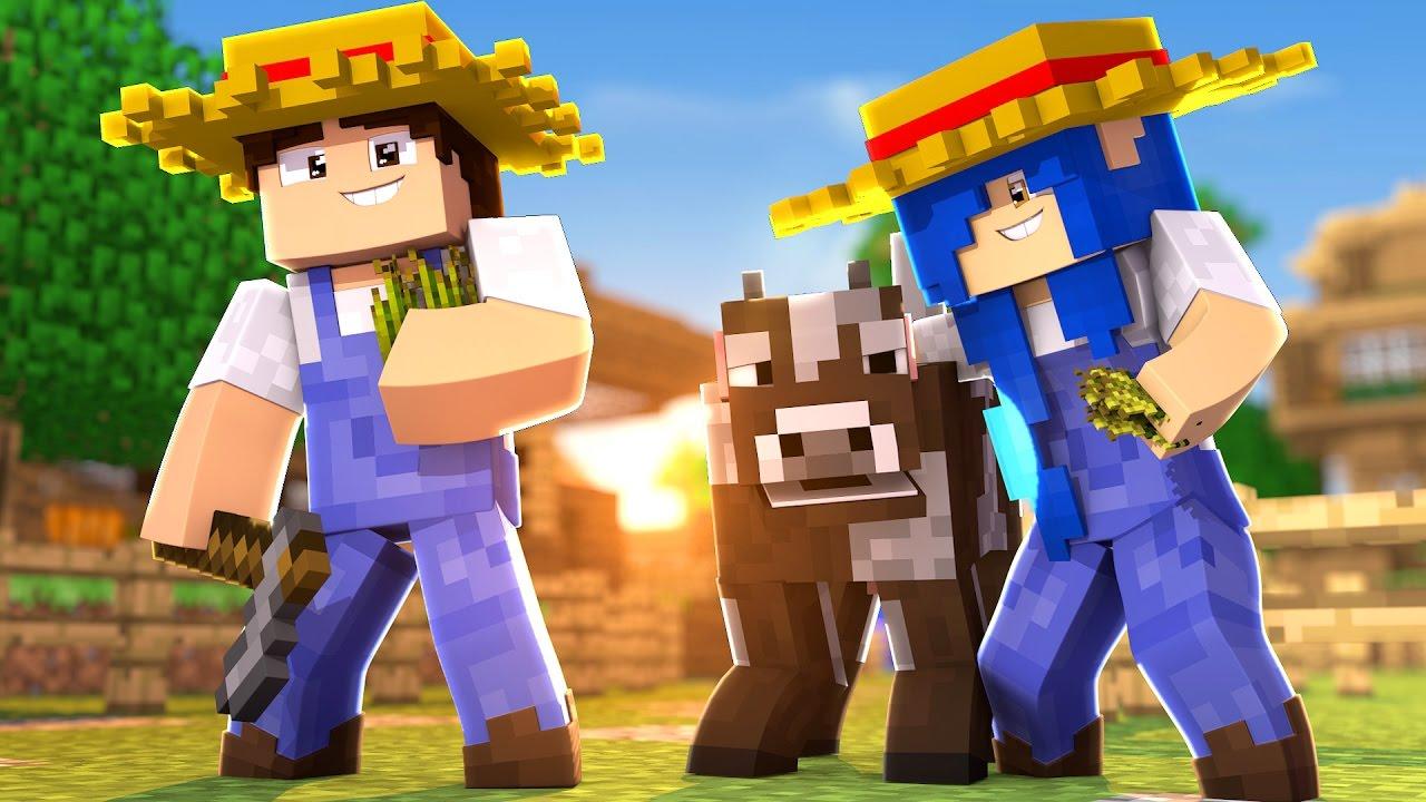 Download Minecraft Família : O COMEÇO DA FAZENDINHA !!