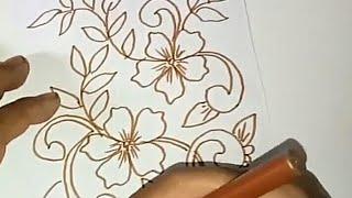 Sketsa Motif Batik Kontemporer 14
