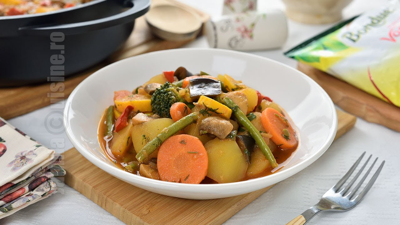 Tocana de legume, reteta de post (CC Eng Sub) | JamilaCuisine