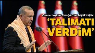 Cumhurbaşkanı Erdoğan'dan Müjdeleri Tek Tek Sıraladı