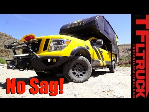 Meet The Ultimate Overland Nissan Titan XD 4X4 RV: When the Going Gets Really Rough!
