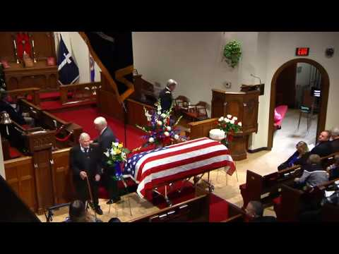 Radioman 2nd Class Quentin Gifford Funeral - USS Oklahoma - Pearl Harbor