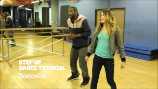 Step up Revolution Final Dance Tutorial - Twitch and Allison (HD)