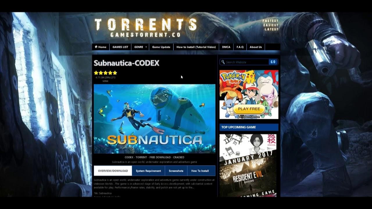 subnautica codex torrent how to crack