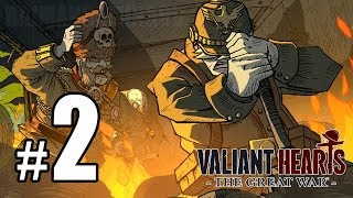 Valiant Hearts: The Great War Walkthrough PART 2 (PS4) [1080p] Lets Play Gameplay TRUE-HD QUALITY
