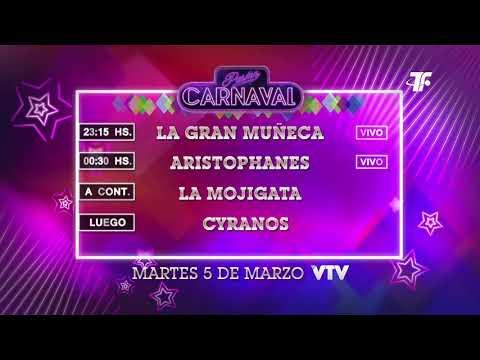 Agenda Carnaval – Martes 05 de Marzo