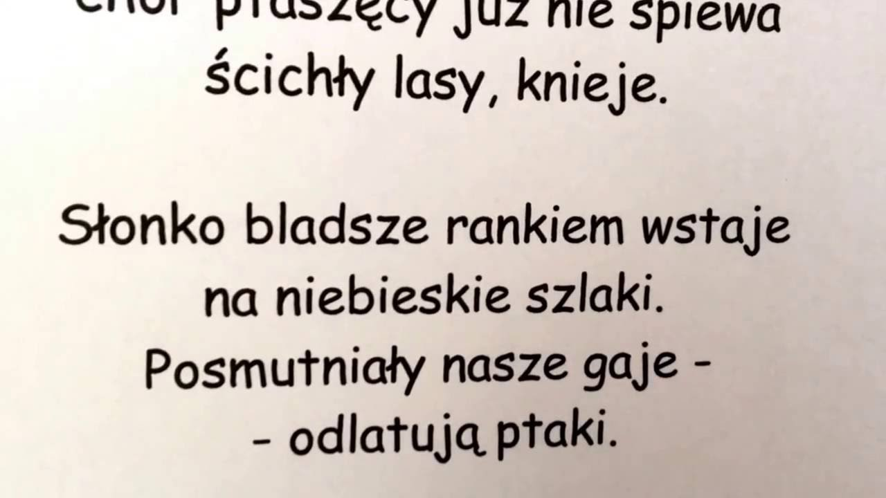 Odlatuja Ptaki By Artur Oppman In Both Polish And English