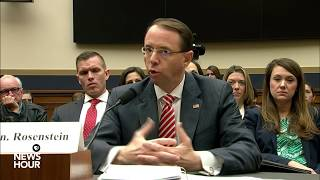 WATCH: Deputy AG Rosenstein testifies before House Judiciary Committee (1/2)