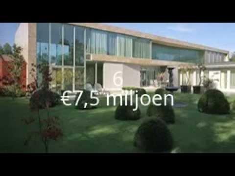 Top 10 duurste huizen van nederland youtube - Etagere huis van de wereld ...