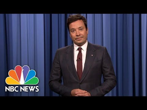 Jimmy Fallon In Emotional Charlottesville Monologue: 'We Can't Go Back' | NBC News