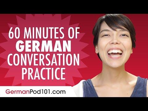 60 Minutes of German Conversation Practice - Improve Speaking Skills