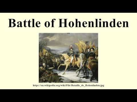 Battle of Hohenlinden