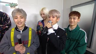 EXO-CBX & Super Junior, Comeback Special Interview!! [Music Bank Ep 924]