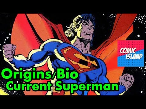Origins/Bio - New Earth Superman (Pre-New 52/Rebirth)
