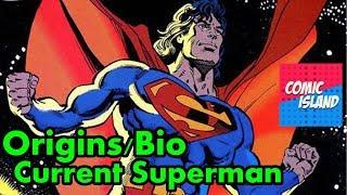 Origins/Bio - New Earth Superman (Pre-New 52/Rebirth)