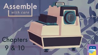 Assemble with Care: Chapters 9 & 10 Walkthrough Guide & Apple Arcade iPad Gameplay (by ustwo games)