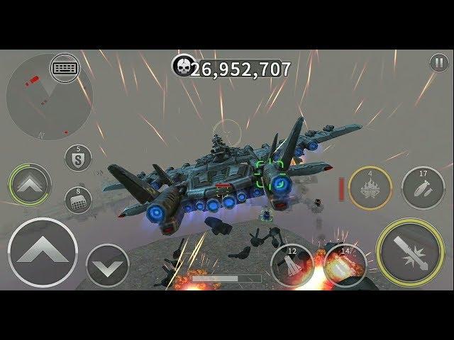 Gunship Battle: BLACK MOTH in RaidMission. #1
