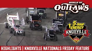 World of Outlaws Craftsman Sprint Cars Knoxville Nationals August 12th, 2016 | HIGHLIGHTS