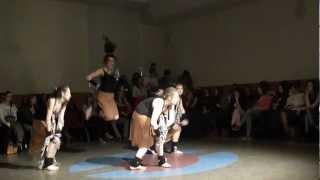 Przekręt 2013- King Africa - e-o-zumba -e -choreografia PW dance