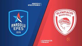EuroLeague 25. Hafta: Anadolu Efes - Olympiacos