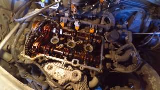 Toyota Passo 1KR-FE-Қабат шынжыр ГРМ күні 1ші