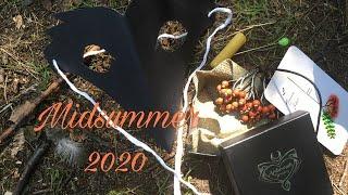 1239b - Midsummer 2020 / svíce, sigilie, masky 🕯🎭