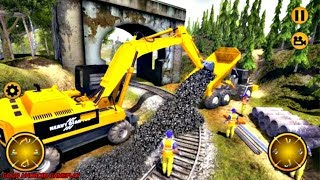 Train Track Construction Sim: Railroad Builder ( by Phosphenes Games ) Android Gameplay FHD
