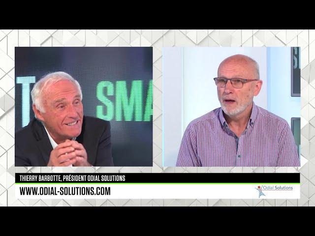 B SMART TV :  Jean-Marc SYLVESTRE interviewe Thierry BARBOTTE, Président du groupe ODIAL SOLUTIONS