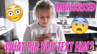 MY BROTHER TEXT MY CRUSH | THE LEROYS