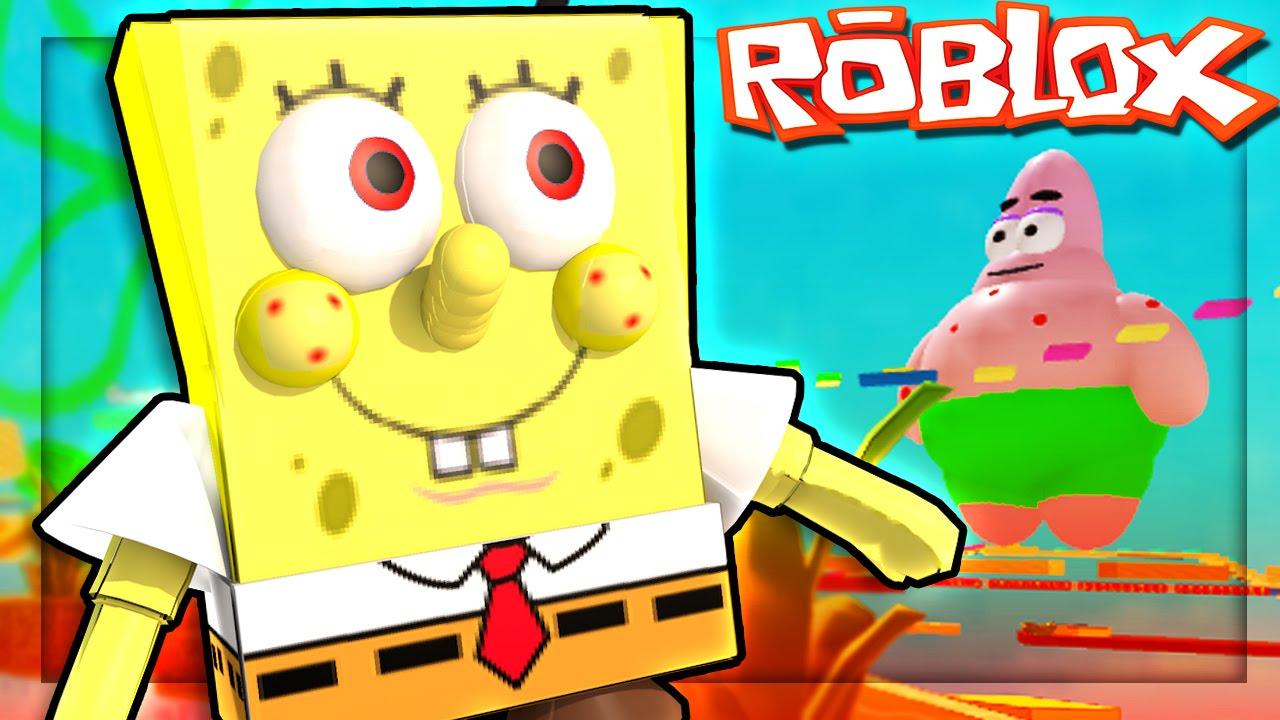 roblox adventures escape evil spongebob spongebob adventure