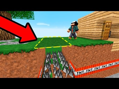 10 СПОСОБОВ УБИТЬ СВОЕГО ДРУГА НУБА В МАЙНКРАФТЕ! ТРОЛЛИНГ НУБКА ГРИФЕРА ЛОВУШКАМИ - Видео из Майнкрафт (Minecraft)
