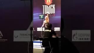 Финал Чемпионата России по гиревому спорту, рывок 63 кг - Васильева против Мякишевой
