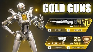 The Greatest Double Golden Gun Moments in Apex Legends!