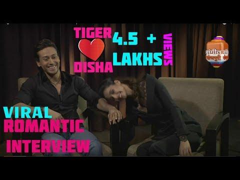 BAAGHI 2 ! Tiger Shroff and His Girlfriend Disha patani Live Romantic Interview ! New HD Video !
