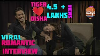 BAAGHI 2 ! Tiger Shroff and His Girlfriend Disha patani Live Romantic Interview ! New HD Video !