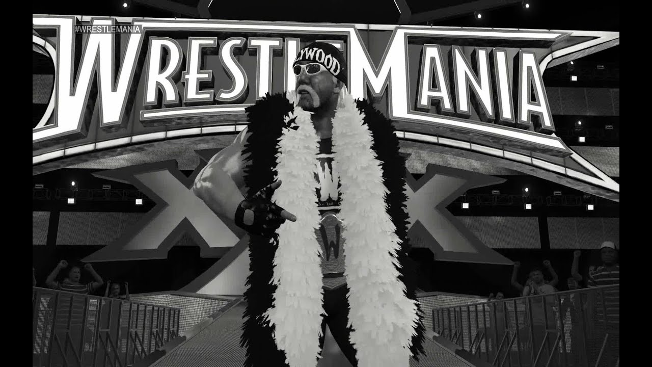 WWE 2K15 NWO Hulk Hogan Entrance - YouTube
