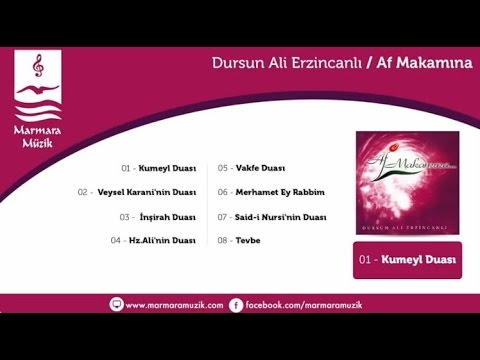 Dursun Ali Erzincanlı -Af Makamına - Hz. Ali'nin Duası