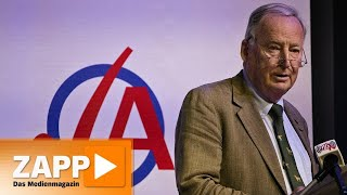 Stöckchensprung? Der Umgang mit der AfD | ZAPP | NDR
