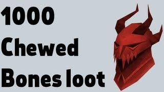 Loot from 1000 Chewed bones