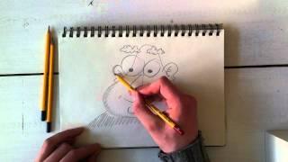 Cartoons Leren Tekenen? Teken Oefening - Vorm Peer