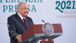 Vacunas contra COVID19 aplicadas en México son seguras y eficaces. Conferencia presidente AMLO