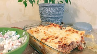 Пошаговый рецепт лазаньи с фаршем, готовим дома