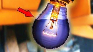 Что будет если ЛАМПОЧКУ ЗАПОЛНИТЬ ВОДОЙ и ВКЛЮЧИТЬ?? Эксперимент с лампочкой.
