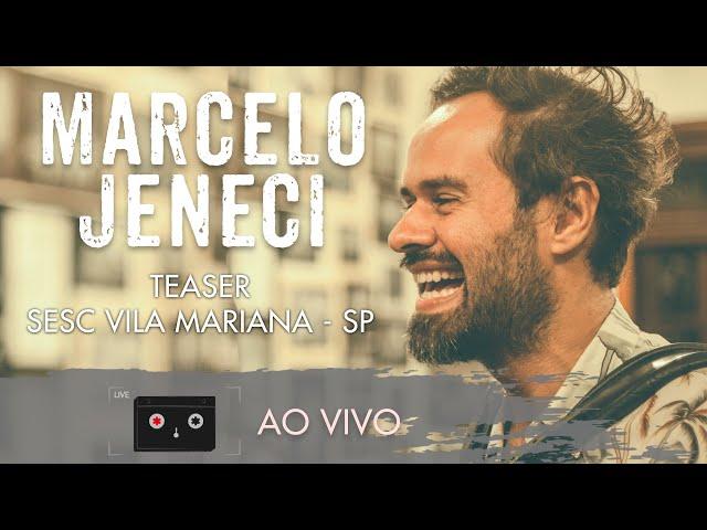 Marcelo Jeneci - Teaser Sesc Vila Mariana/SP