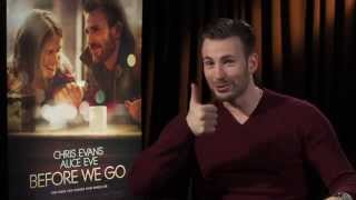 BEFORE WE GO Interview: Chris Evans