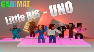 Little big - UNO. Minecraft animation