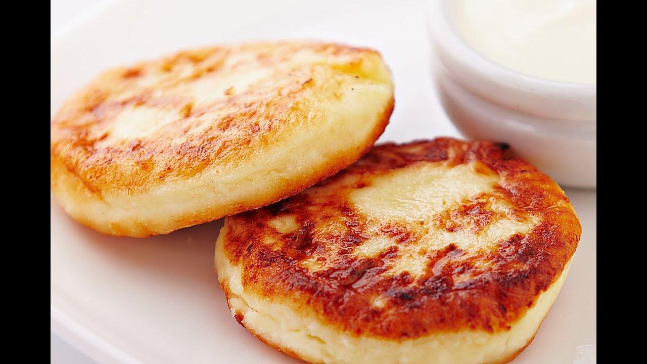 рецепт сырников из творога с манкой классические пошаговый